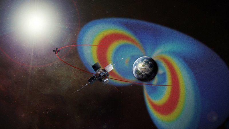 Зонды Ван Аллена показали, как ускоряются электроны