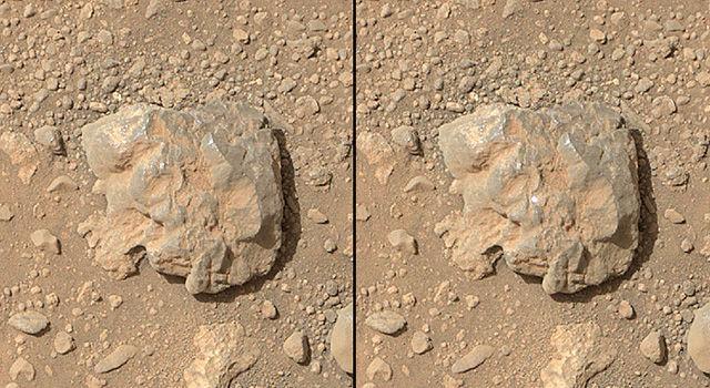 На снимках Curiosity видны вспышки лазера