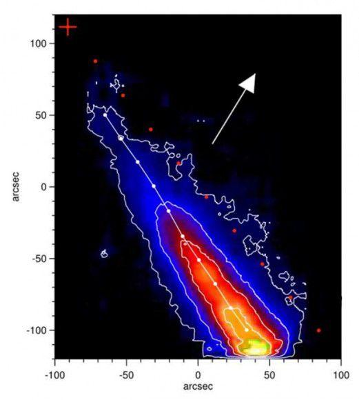 Ученые выяснили, что ядро кометы Исон разрушилось незадолго до перигелия