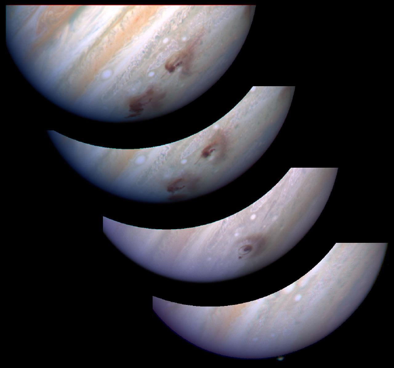 Двадцать лет назад произошло столкновение Юпитера с кометой Shoemaker-Levy 9