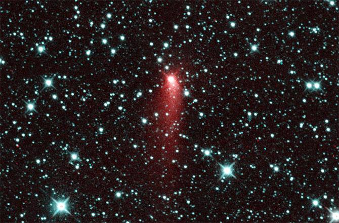 NEOWISE сделал снимок кометы, похожей на астероид