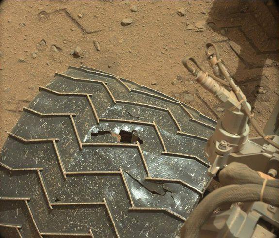 Curiosity вновь  предстоит преодолеть область