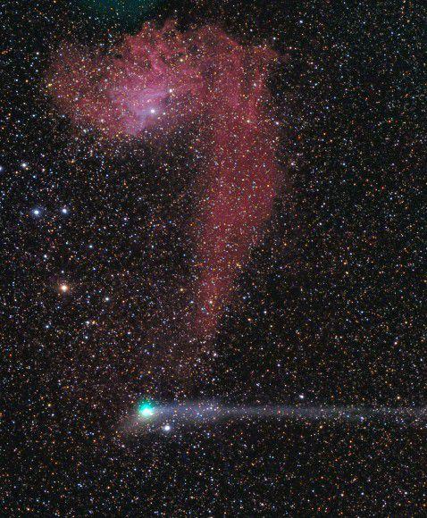 Комета Жак приближается к Земле