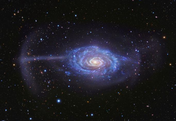 Новый прибор позволяет подробно исследовать большое количество галактик