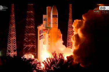 ESA успешно совершило запуск пятой миссии ATV к космической станции