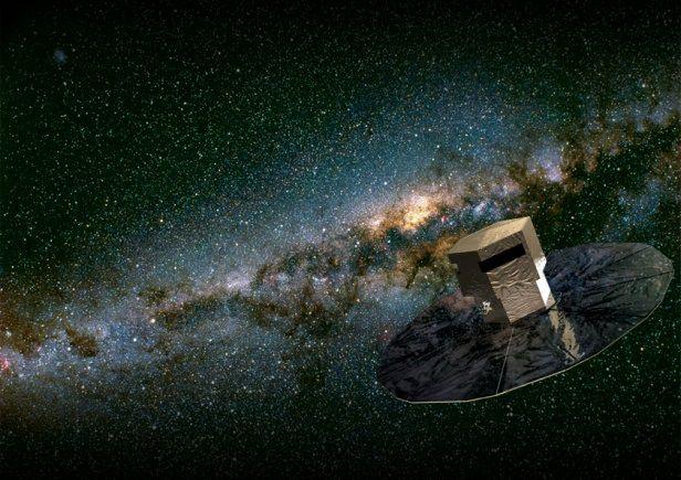 Телескоп Gaia приступил к работе