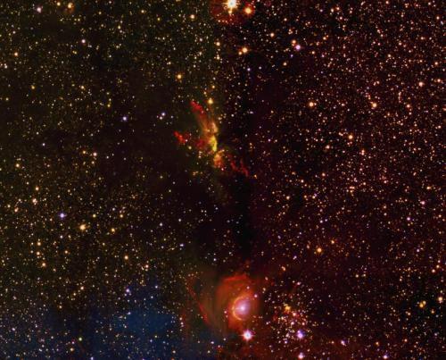 Опубликованы первые результаты исследования UK Infra-Red Telescope