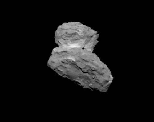 Новый удивительный снимок кометы 67P/Churyumov-Gerasimenko