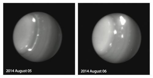 Космические дела: штормовая погода на Уране