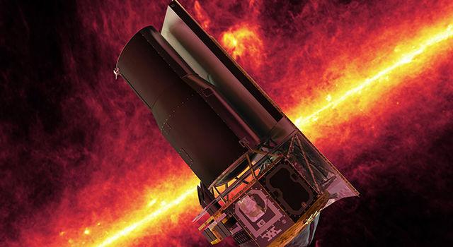 Телескоп Spitzer получил награду от Аэрокосмического Сообщества