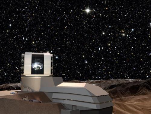 Новый телескоп  LSST  будет ловить Вселенную «в действии»