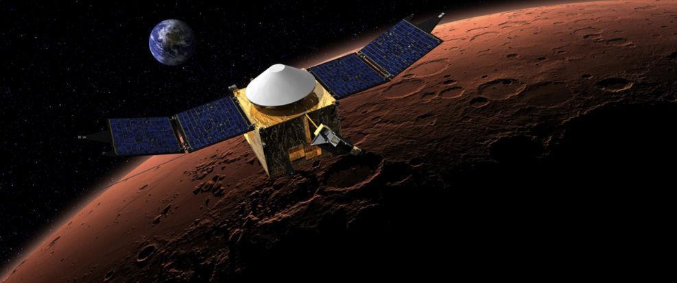 Американский и индийский орбитальные зонда Марса приближаются к Красной Планете