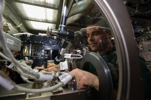 На МКС запустили эксперимент по исследованию капиллярного потока