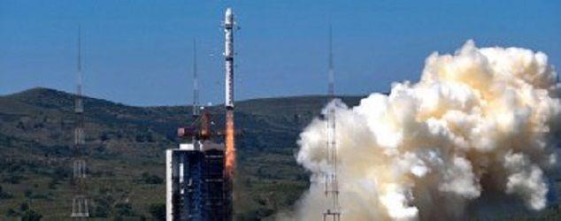 Китай во вторник совершил успешный запуск двух спутников