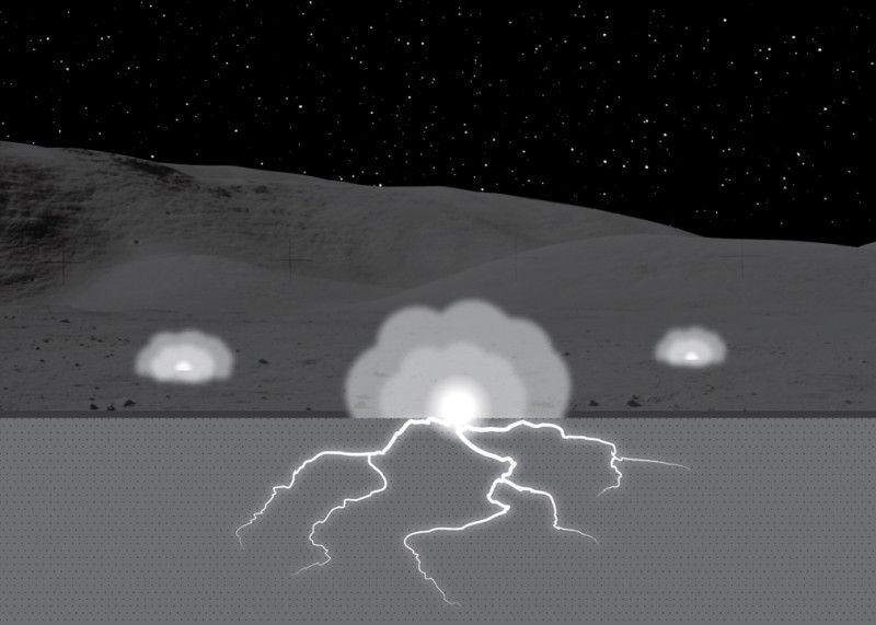 Ученые считают, что электрические разряды могли изменить эволюцию лунной почвы