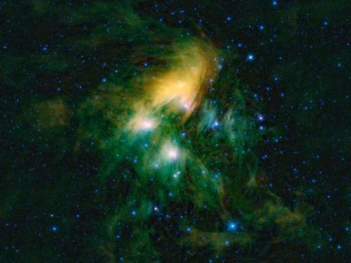 Радио-телескопы точно измерили расстояние до скопления Плеяды