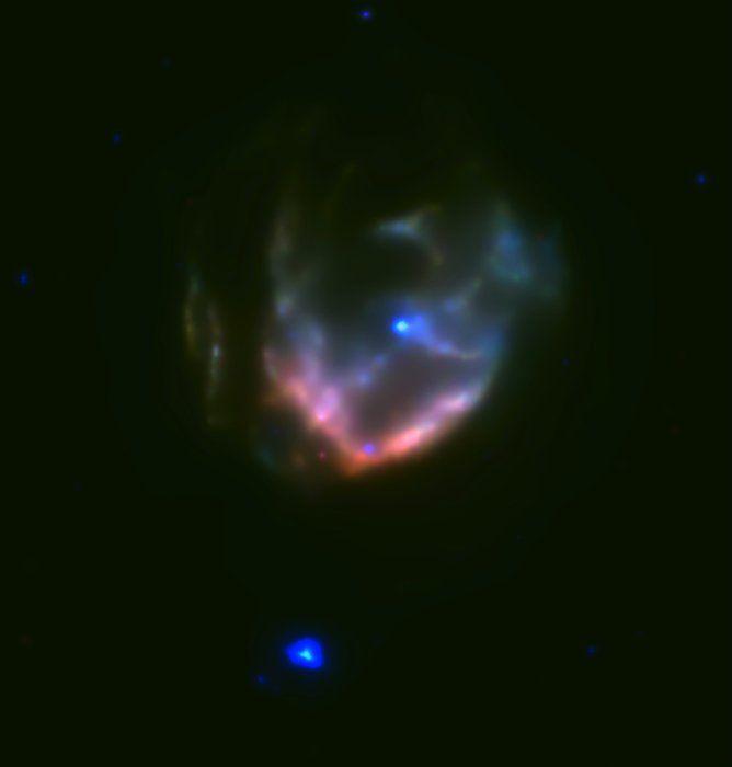 Обнаружен магнетар неподалеку от остатка суперновой Kesteven 79