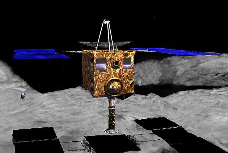 Японское космическое агентство поведало о зонде для охоты на астроиды