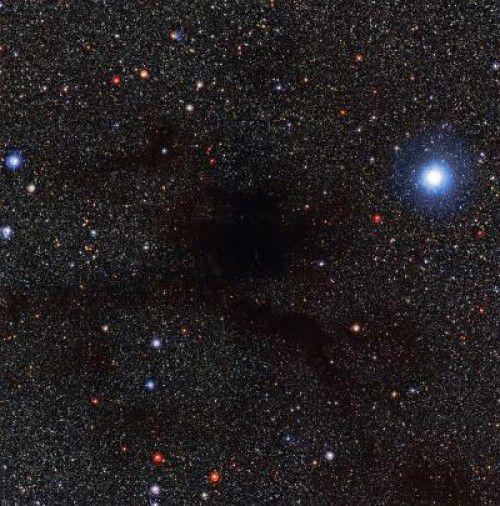 Получен снимок темного облака Lupus 4