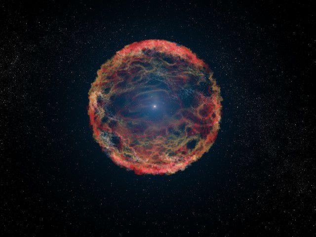 Звезда-компаньон сверхновой обнаружена после двух десятков лет поиска