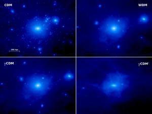 Представлена скорректированная теория темной материи