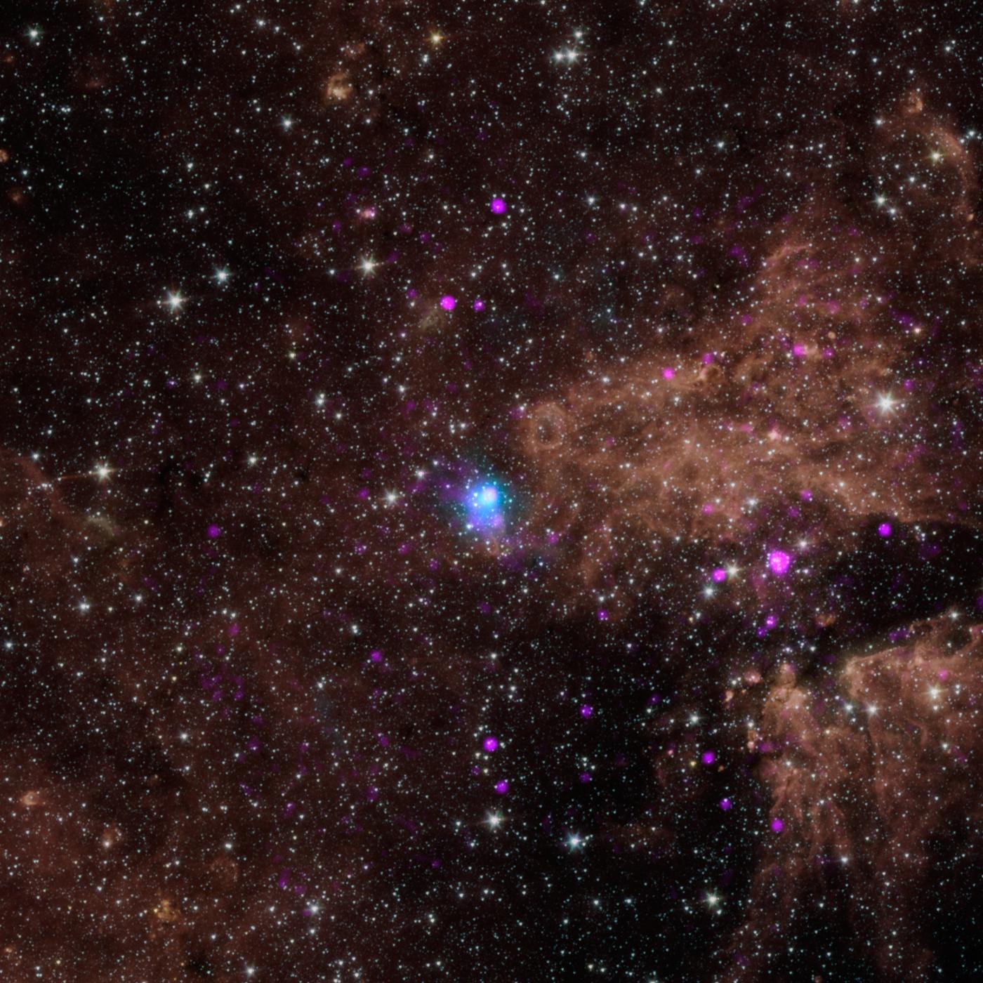Мертвые звезды являются источниками гамма-излучения в Млечном Пути