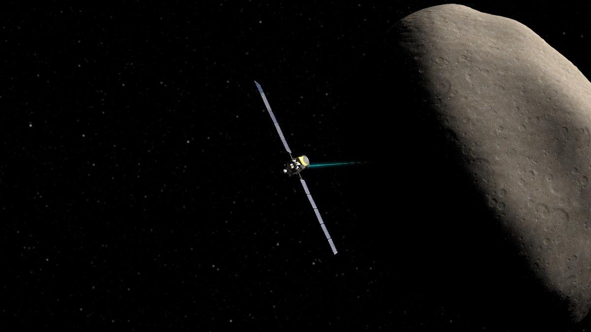 Восстановлено нормальное функционирование космического аппарата Dawn