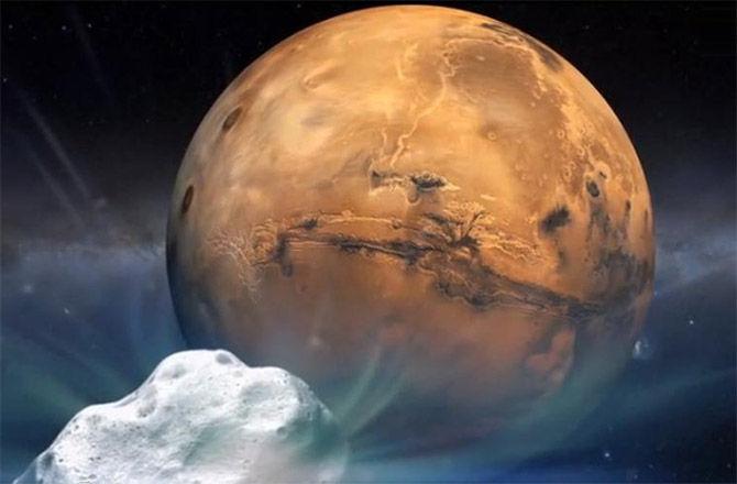 NASA готовится к пролету кометы Siding Spring рядом с Марсом