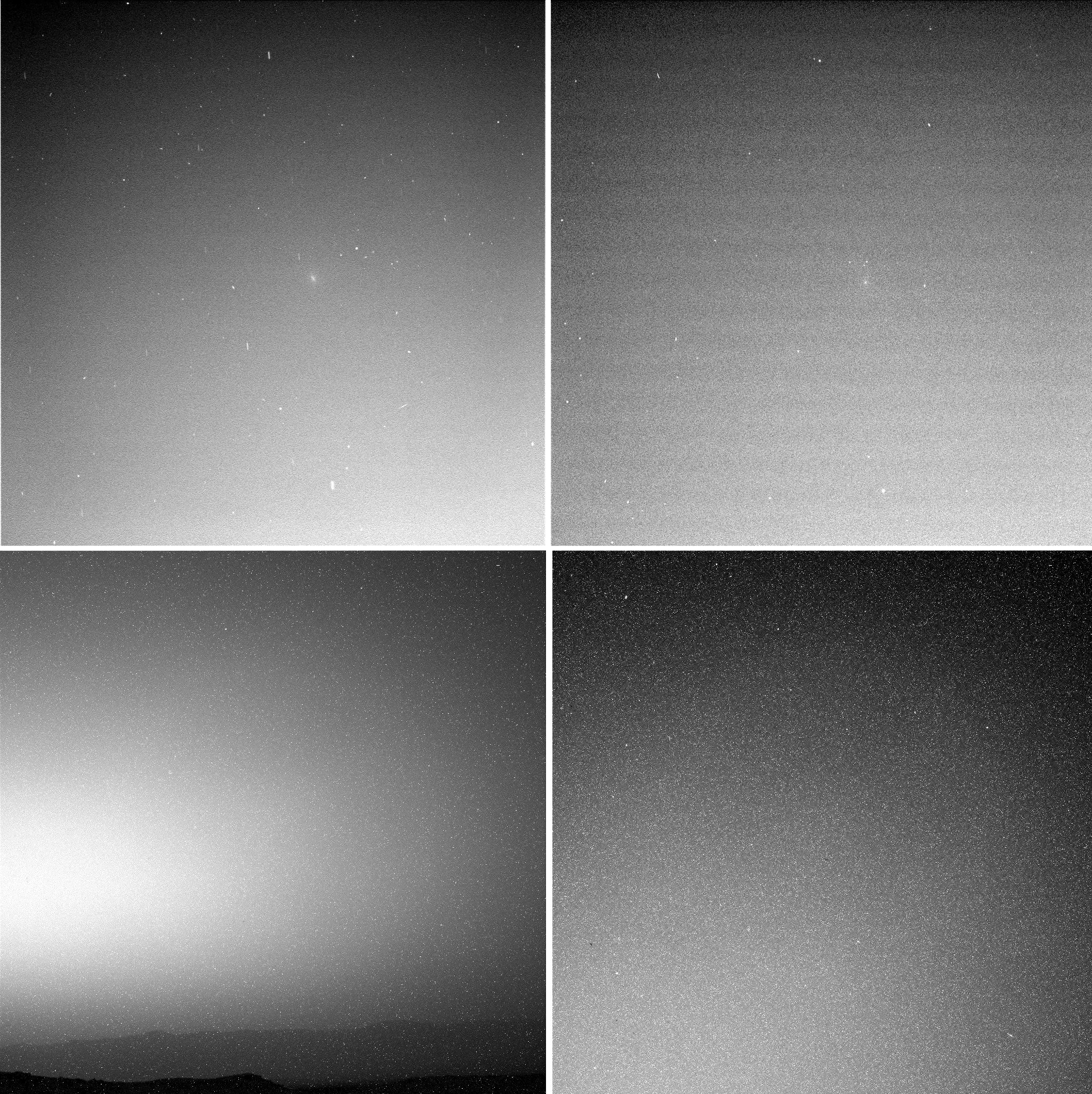 Опубликованы первые снимки момента пролета кометы Siding Spring