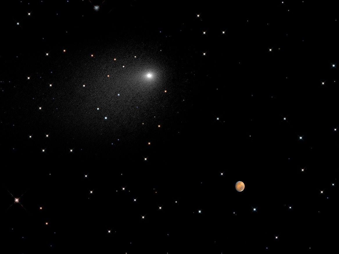 La NASA dévoile une photo inédite de Mars prise par le