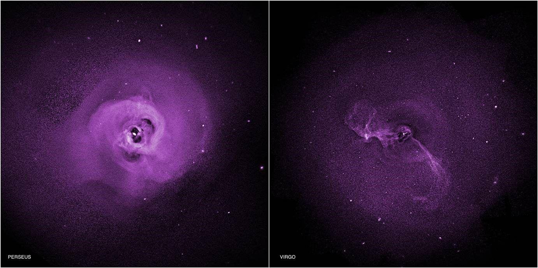 Ученые нашли причины нагрева газа внутри галактических скоплений
