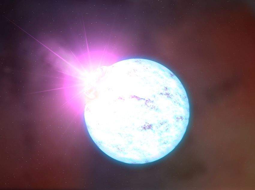 Нейтронные звезды могут пролить свет на расширение Вселенной