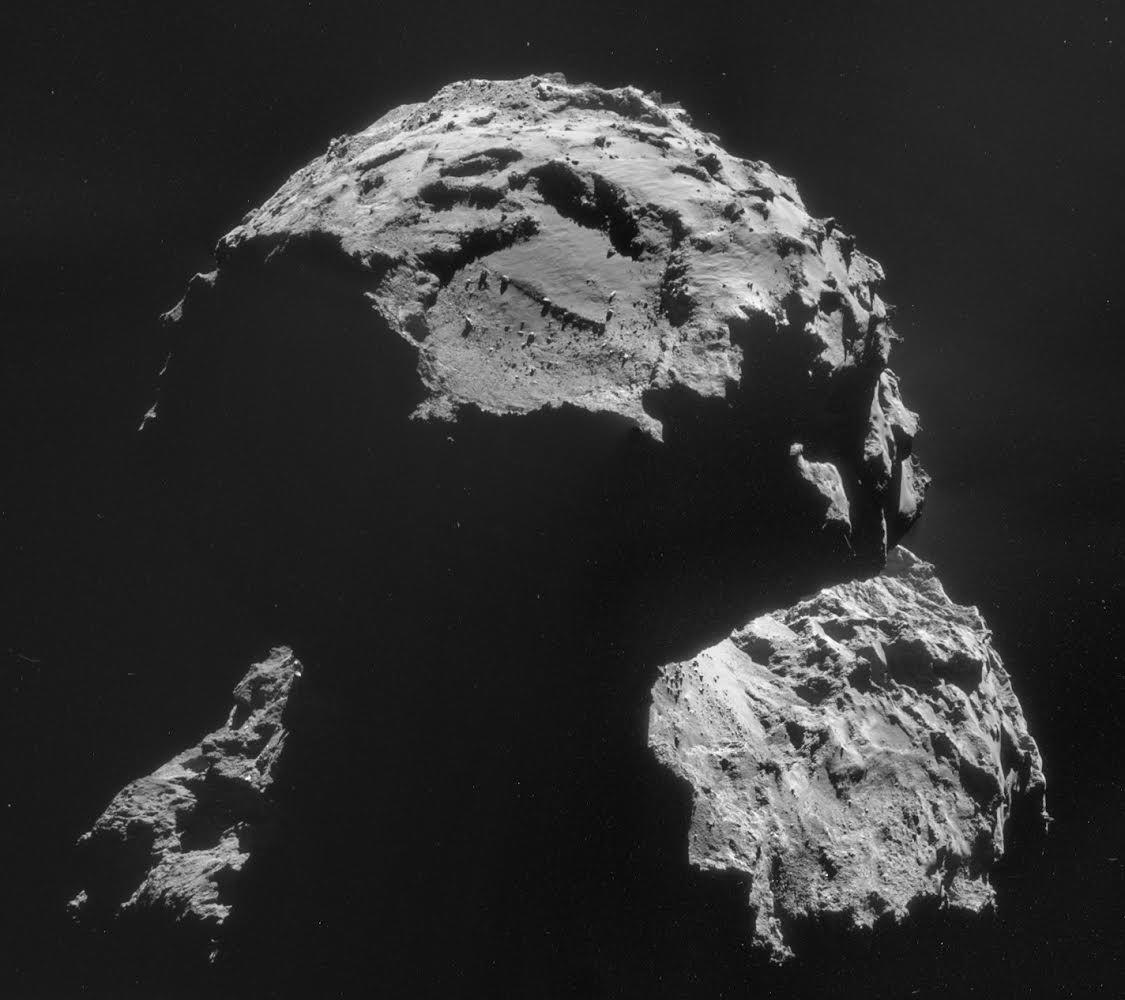 Изображение: Место посадки кометы 67P/Чурюмова - Герасименко