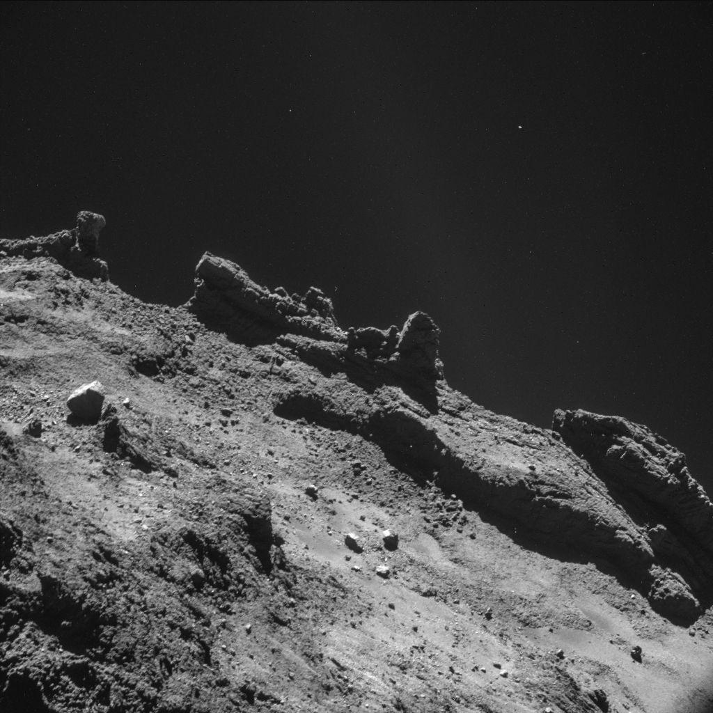 Европейский космический аппарат готов загарпунить комету