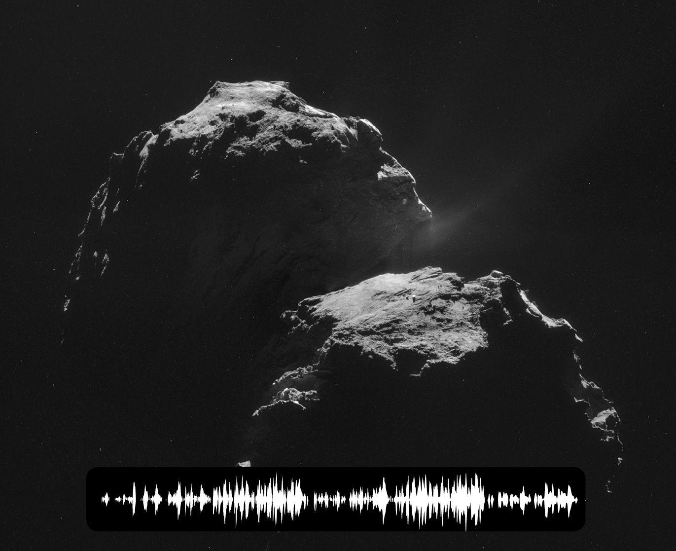 Странная песня кометы 67P/Чурюмова-Герасименко