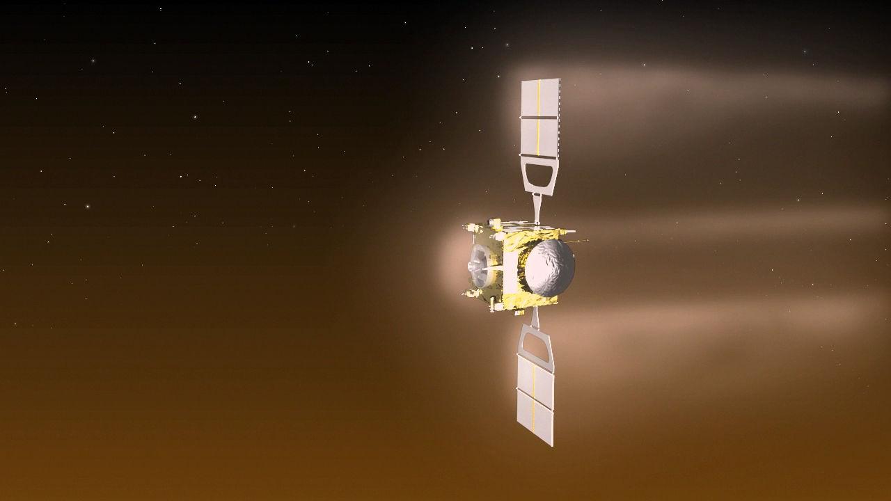 Миссия аппарата Venus Express близится к своему завершению