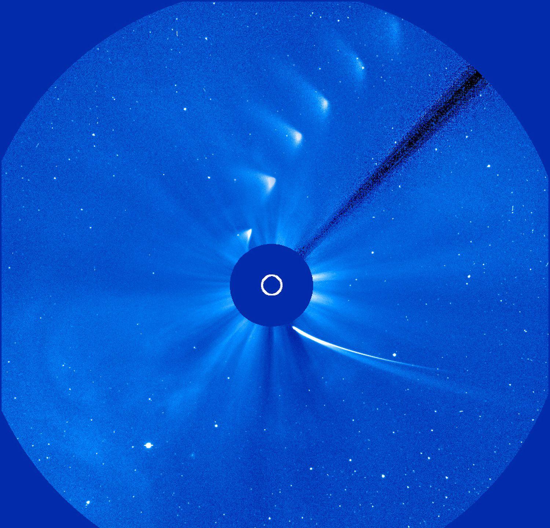 Изображение: Лебединая песнь кометы ISON