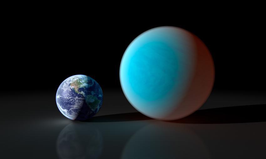 При помощи телескопа на Земле зафиксировано прохождение сверхземли перед звездой