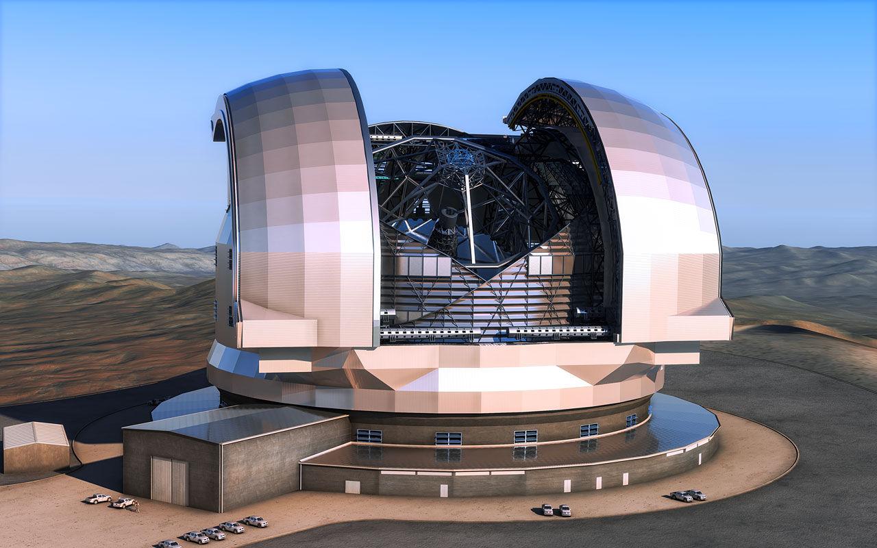 Дан зеленый свет на строительство телескопа E-ELT