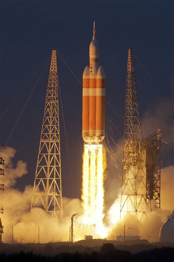 NASA произвело запуск нового космического корабля Орион