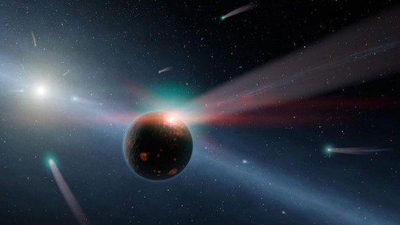 Rosetta помогает ученым искать космические источники земной воды