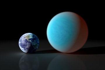 Планета категории «супер-Земля» впервые замечена в наземный телескоп