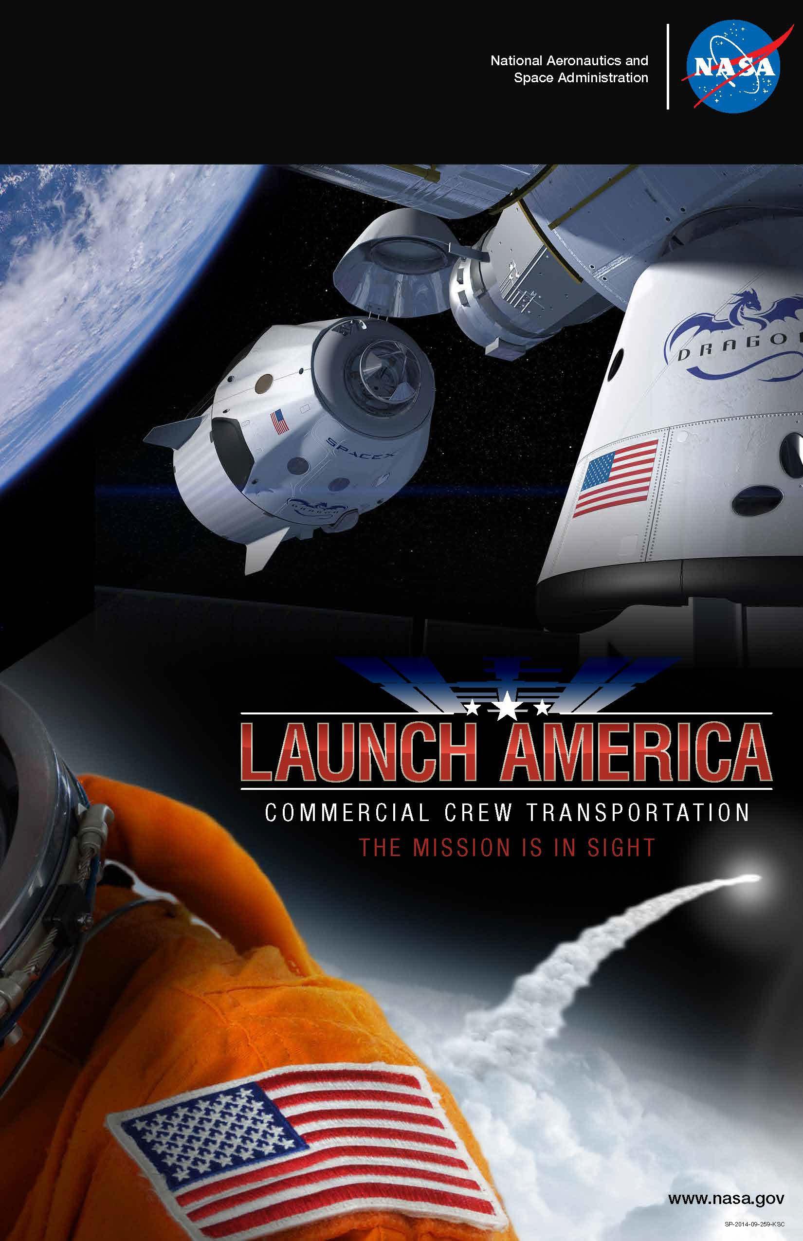 SpaceX завершает 1 этап работы над  программой коммерческих пилотируемых полетов
