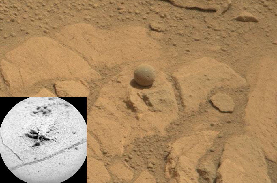 Марсоход Curiosity возьмет образцы породы кратера Мохаве