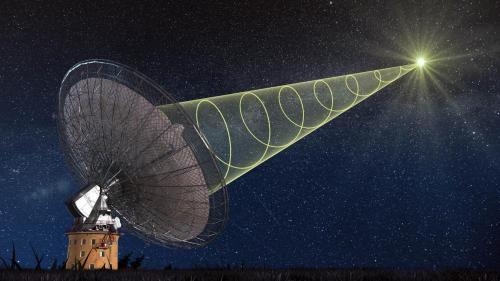 Ученые наблюдали «живой» радиовсплеск