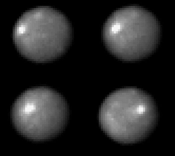 Сначала «Хаббл», а теперь и «Даун» обнаружили на Церере белое пятно. Что это?