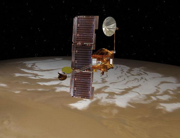 Рекордсмен «Одиссей» продолжает исследовать  Марс