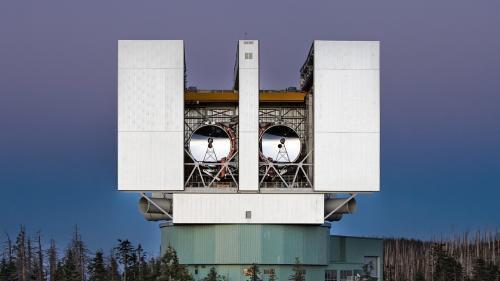 Телескоп LBTI способен видеть сквозь пыль