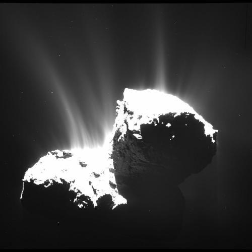 Данные «Розетты» дают точное представление о комете Чурюмова-Герасименко