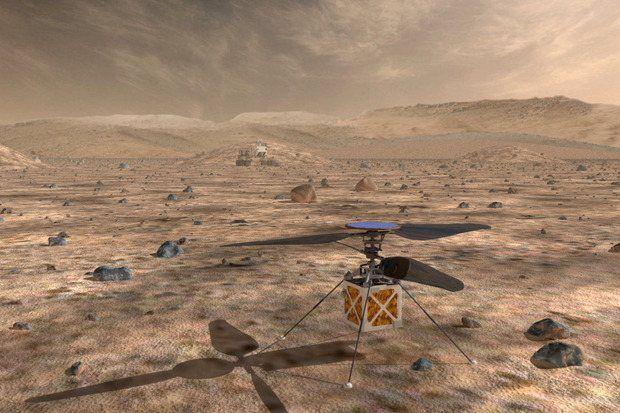 НАСА испытывает новые беспилотники, призванные исследовать Марс
